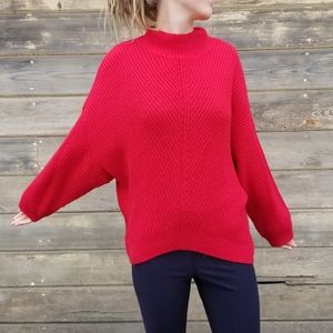 Express | textured knit batwing sweater